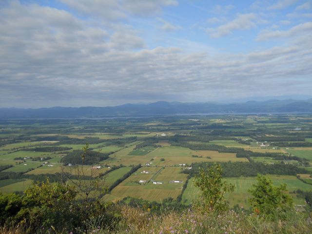 The view from atop Snake Mountain in Addison, Vermont.