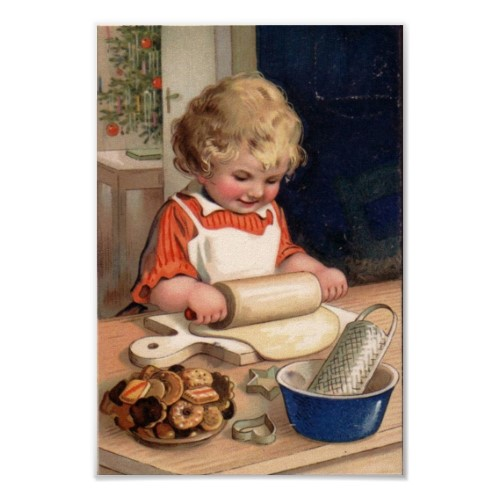 vintage_christmas_girl_baking_cookies_poster-p228519991634616872836v_500