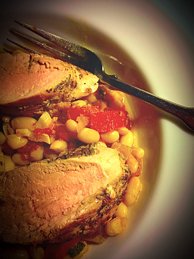 This ain't your mama's pork and beans!