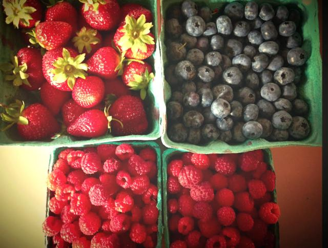 It's berry season in Vermont! Yummy!