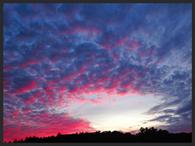 I just had to pull over when I saw this sky when I was driving home.