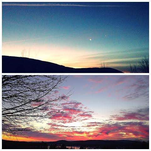 Sunrise, Sunset.